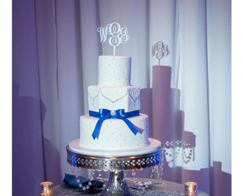 Orlando wedding dj - cake pin spot
